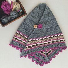 Sunday Shawl - crochet pattern from The Little Bee https://www.etsy.com/nz/listing/196313873/crochet-shawl-pattern-instant-download?ref=shop_home_feat_1 photo credit @buntlocke on Instagram