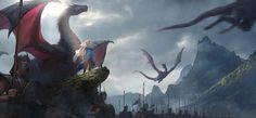 I'm back: Daenerys returned to Westeros Illustration by Chao Huang