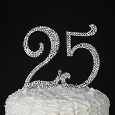 25 Cake Topper for 25th Birthday or Anniversary - Party S... https://smile.amazon.com/dp/B019CSSCFU/ref=cm_sw_r_pi_dp_x_w5mSxbFVFB4MR