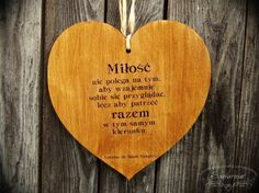 Heart with love-related quote, cut from plywood. Wooden Hearts, Plywood, Quotes, Hardwood Plywood, Quotations, Quote, Shut Up Quotes, Wood Veneer