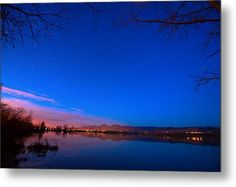Dawn The Beginning Of The Twilight  Ready To Hang Metal #WallArt Print By James Bo  Insogna #art #insognaGallery #ArtPrints