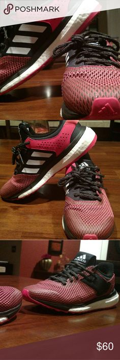 Adidas response boost Great condition...very comfortable...wide fit adidas Shoes Athletic Shoes