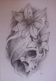 beautiful skull tattoos for women - Google-Suche