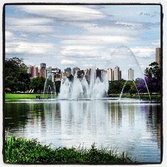 O Parque Ibirapuera é o mais importante parque urbano da cidade de São Paulo, Brasil. Foi inaugurado em 21 de agosto de 1954 para a comemoração do quarto centenário da cidade.