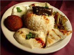 falafel & dolmahs would be divine
