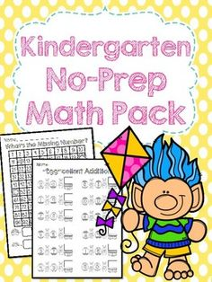 This packet includes several Spring themed math worksheets including:Pg. 4-6: Writing NumbersPg. 7-11: Number IdentificationPg. 12-13: Count & WritePg. 14-16: Count & MatchPg. 17-34: Skip CountingPg. 35-38: Count & GraphPg. 39-42: Interpreting GraphsPg. 43-44: Picture AdditionPg. 45-46: Addition FactsPg. 47-49: Picture SubtractionPg. 50-51: Subtraction FactsPg. 52-60: Comparing NumbersPg. 61-64: Sequencing NumbersPg. 65: PatternsIf you like this...