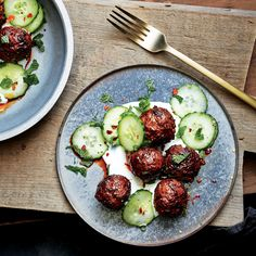 Chef Seamus Mullen serves these robustly flavored meatballs as a shared plate at El Colmado, his New York City tapas bar, but they're also a great main.