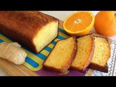 Very Crazy About The Kitchen: Orange Sponge Cake and Fresh Ginger Bunt Cakes, Cupcake Cakes, Cooking Cake, Cooking Recipes, Orange Sponge Cake, Cheesecake, Piece Of Cakes, Sweet And Salty, Sweet Bread
