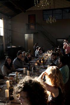 shokoofeh:    (Kinfolk Dinner in Brooklyn via La Buena Vida)