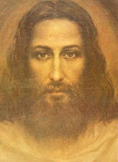 Jesus Christ: portrait by Ariel Agemian, based on the image on the Shroud of Turin. Jesus Face, God Jesus, Image Jesus, Images Of Christ, Jesus Painting, Paintings Of Christ, Oil Paintings, Saint Esprit, Christian Art