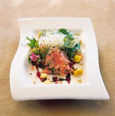 Salmon Dish at Sante