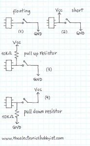 Pull Up Resistors explained