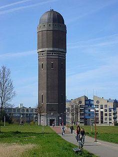 De watertoren in Rokkeveen, Zoetermeer