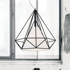 Diamond 1-Light Geometric Pendant