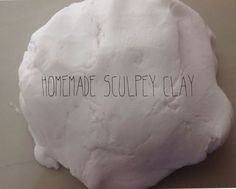 Picture of Homemade Sculpey Clay
