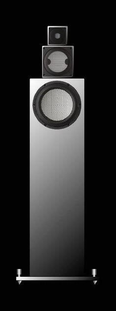 HIRO Acoustic Laboratory system CCC aluminium speakers