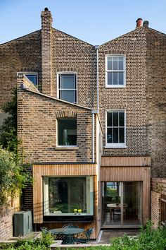 Retrofit projects page — Prewett Bizley architects Wood Cladding Exterior, House Cladding, Timber Cladding, Facade House, Victorian House London, Victorian Terrace House, London House, Victorian Homes, Terrace House Exterior