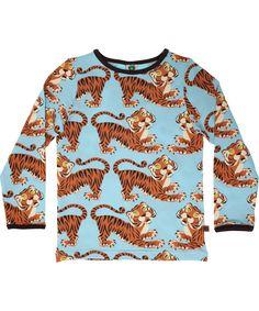 Smafolk tiger printed t-shirt - grrrraaao
