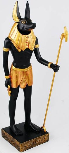 Magickal Products Anubis 12 - This statue depicts the Ancient Egyptian god Anubis, who was revered as the embalmer of the dead and one who weighed the truth of the heart against a feather to determine one's worth in the afterlife. Egyptian Mythology, Ancient Egyptian Art, Egyptian Hieroglyphs, Egyptian Goddess, Toy Art, Tattoo Zeus, Smiling Buddha, Anubis Statue, Martial