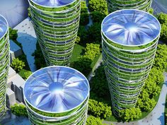 Futuristic Paris Smart City is filled with flourishing green skyscrapers | Inhabitat - Sustainable Design Innovation, Eco Architecture, Green Building
