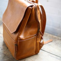 camera / laptop / travel / diaper / work handmade leather backpack - Best DIY and Crafts 2019 Leather Baby Bag, Leather Diaper Bags, Soft Leather Handbags, Leather Bags Handmade, Leather Purses, Leather Laptop Backpack, Leather Backpacks, Work Bags, Diaper Bag Backpack