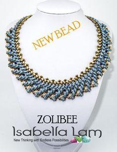 ZOLIDUO® 2 hole paisley Beads Jet Travertin TV2398 30 pcs