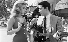 Elvis Presley and Ann Margret