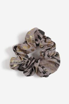 820ba9e1d Claire's Paisley Print Bandana Bow Hair Scrunchie - Burgundy | Products