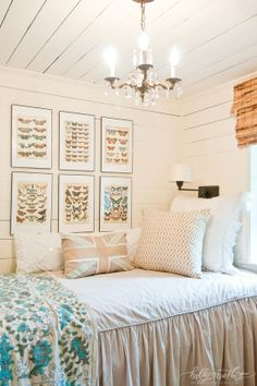 Tiny upstairs guest room. Photography by Natalie Lacy Lange