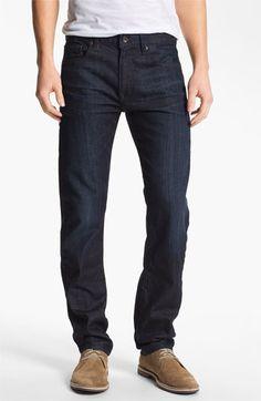 Lucky Brand 'Dean' Straight Leg Jeans (Dark Kingston)