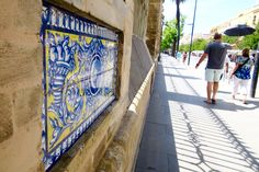 Exploring the Streets of Seville, Spain. August 2015