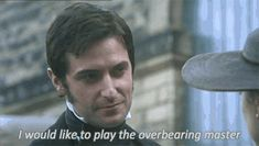 11 reasons why you need John Thornton in your life. Richard Armitage. North and South. Gif.