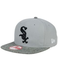 New Era Chicago White Sox Premium 9FIFTY Snapback Cap - Gray Adjustable