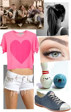 """Bowling with the Janoskians"" by sarah-goodman ❤ liked on Polyvore"