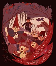 Over the Garden Wall:Chapter 4-Songs of the Dark Lantern