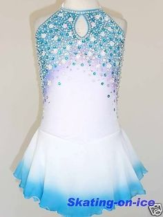 Custom Made to Fit Stunning Skating Dress