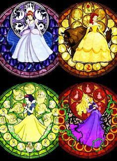 stained glass disney-pixar