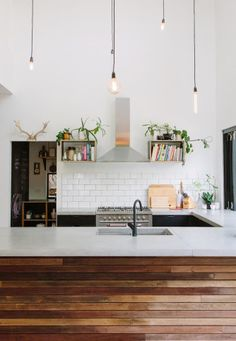 Kitchen | Filament Light Bulbs