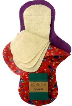 This kit contains everything you need to stitch 3 washable cloth pads. Every Eco Femme pad or 3 pack of pantyliners purchased provides an adolescent girl with a washable cloth pad. Sewing Hacks, Sewing Tutorials, Sewing Crafts, Sewing Projects, Sewing Patterns, Reusable Menstrual Pads, Mama Cloth, Operation Christmas Child, Cloth Pads