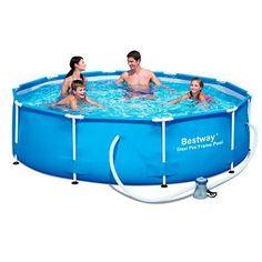 Piscina Natación, Triatlón y Aquagym - Piscina tubular 305x76 cm 3638 litros  BESTWAY - Aprender a nadar y piscinas