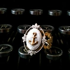 Anchor ring by ellepaisley on Etsy, $14.00