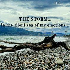 Nafpaktos sea storm