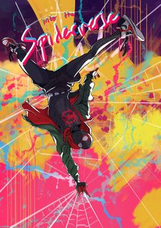 Miles Spiderman, Miles Morales Spiderman, Black Spiderman, Spiderman Spider, Amazing Spiderman, Spiderman Anime, Spiderman Poster, Marvel Comic Universe, Marvel Comics Art