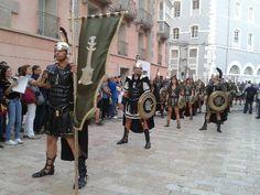 Gran Desfile de Cartagineses y Romanos en Cartagena (Murcia)
