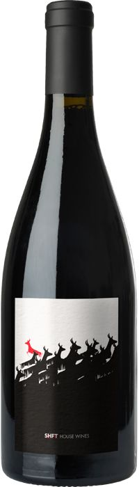 SHFT House Wine 2009 Paso Robles Rhone Blend from 3 Finger Wine Co. PD #design #packaging