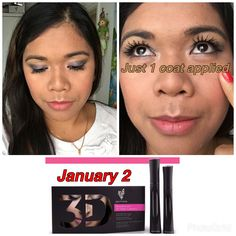 The new Reformulated Moodstruck 3d Fiber Lashes Mascara+. Launch Date will now be on January 2 instead of 15..Yohoo cant wait #Mascarababe #3dfiberlashes #beautifulw/younique #makeup #Eyelashes #Naturalbase #waterproof