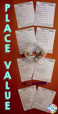 Want a FREE differentiated place value game to use in your math centers tomorrow? Read about how we've transformed the popular game Yahtzee into a fun and engaging place value game! You'll even get our free score cards to use!