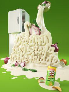 Increíbles diseños de publicidad para Pringles