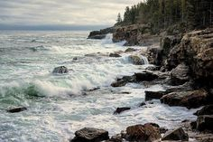 Susan Garver took this photo of the Acadia Coast from the Great Head trail.  Susan Garver Photography
