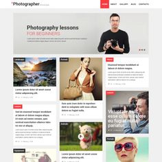 Photographer Portfolio WPML ready WordPress Theme